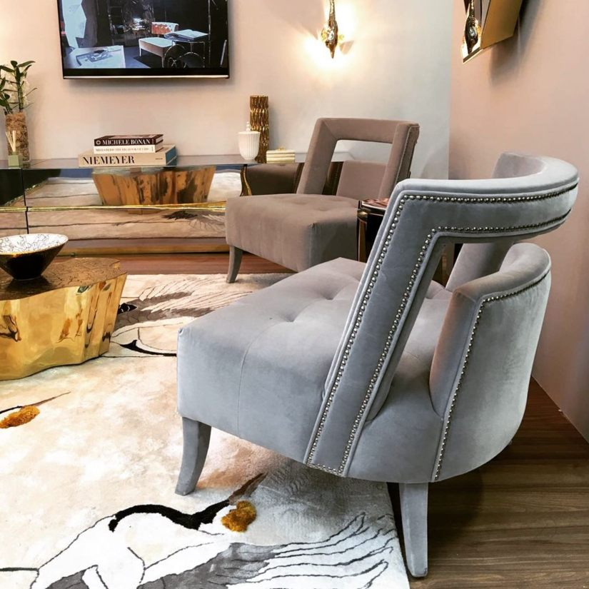 Hotel Lobbies - 8 Eye-Catching Contemporary Chairs
