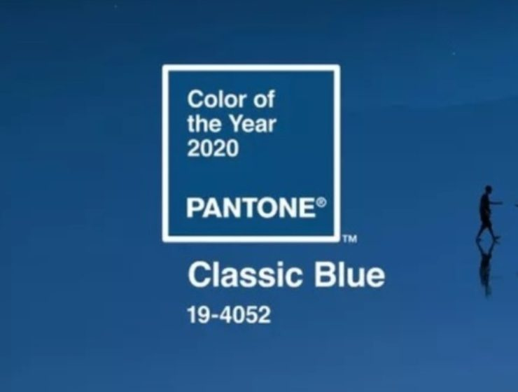 Pantone's Colour of the Year - Classic Blue