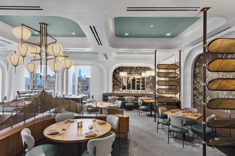 The Zodiac Room - The New Built-In Restaurant by AvroKO