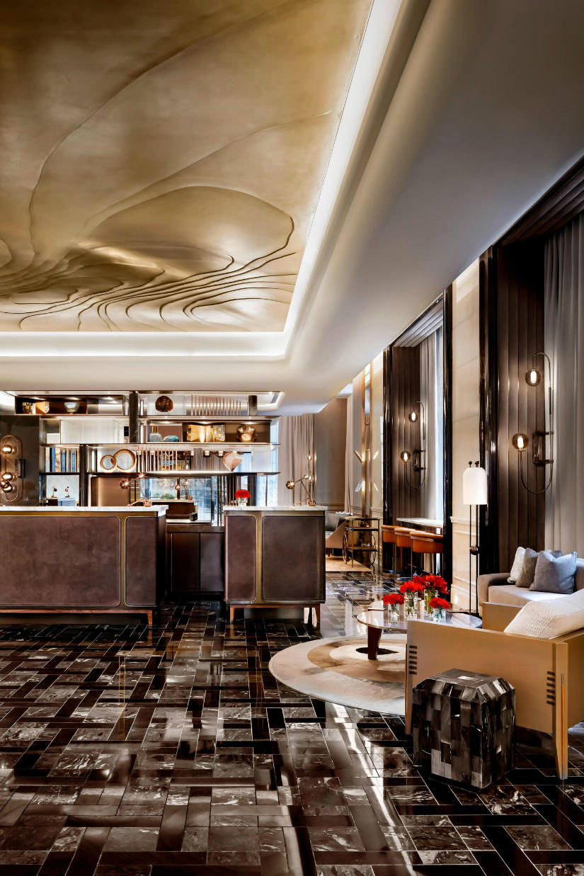 Luxury hotel interiors - Astor Lounge By Design Agency